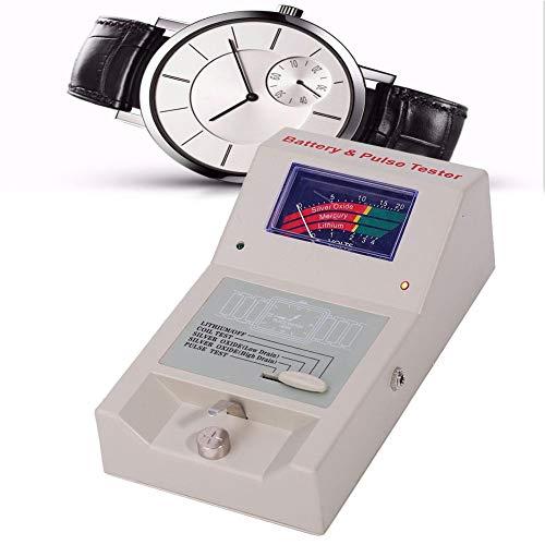 Probador de cuarzo, analizador de reloj de cuarzo Detector Batería y probador de impulsos Herramientas de reparación de relojes Accesorio