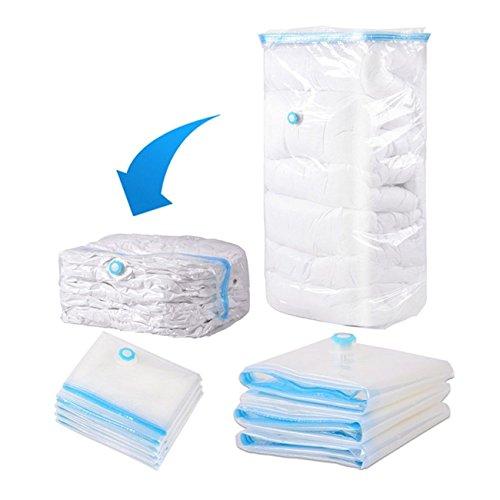 Ashley GAO Bolsa de plástico transparente ahorro de espacio bolsa de almacenamiento sellado al vacío bolsa de paquete organizador para el hogar de la familia