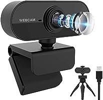 Webカメラ HD1080P/30fps フルHD ウェブpc カメラカメラ マイス に適用する会議用 オンライン会議 120°広視野角 自動光補正 USB 小型 会議用/在宅勤務/動画配信/ゲーム実況/ビデオ/ビデオ会議/ネット授業 カメラ...
