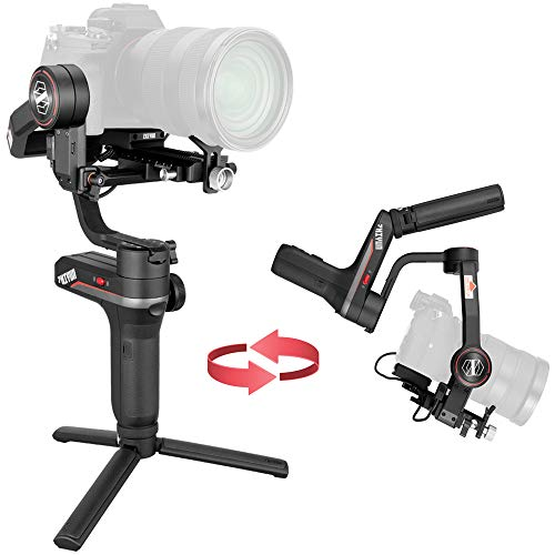 Zhiyun Weebill S 3-Axis Camera Gimbal Stabilizer for Mirrorless and DSLR Cameras for Sony A7M3 A7R3 A7 III A9 Panasonic GH5 GH5S Canon 5D3 5D4 5DS Nikon D850 Z6 Z7