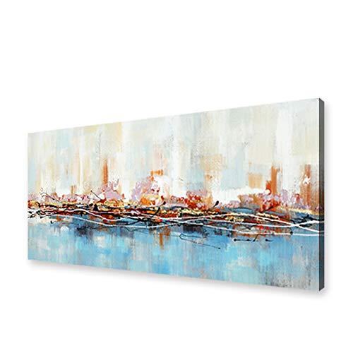 Modernos Del Arte Cuadro En Lienzo - abstracta Pintura Imágenes en color para Carteles Impresiones De La Lona Arte De La Pared Decorativa Cuadros Pintura(Sin Marco)(70x210cm)