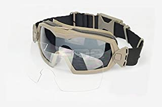 H World Shopping Fan Version Cooler Airsoft Glass Regulator Goggles Ski Snowboard Bike Sports