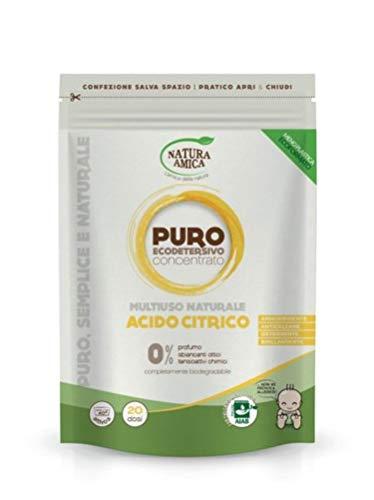 Eco Detersivo Multiuso in Polvere con Acido Citrico