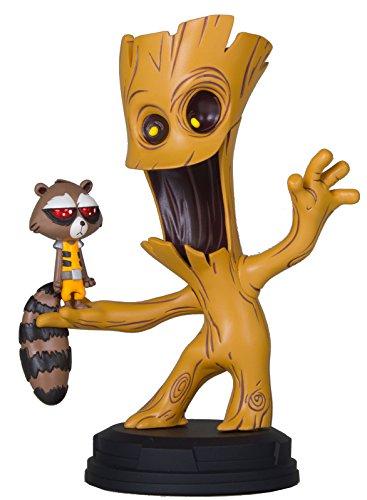 Marvel Comics Mini-Statue Groot & Rocket 16 cm Gentle Giant