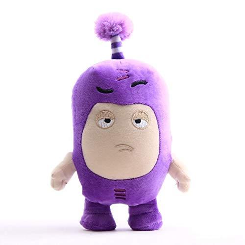 yitao Kuscheltier 18cm Oddbods Cartoon Plüschtiere Niedliche Weiche Sicherung Pogo Blasen Slick Zeke Jeff Plüschpuppenspielzeug Für Kinder Mädchen