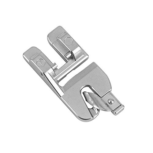 DreamStitch 820249096 - Prensatelas para máquina de coser Pfaff (3 mm, con dobladillo enrollado, con IDT, para Pfaff #98-694818-00, 820220096, 3820284-096, 820284096, 820249096)