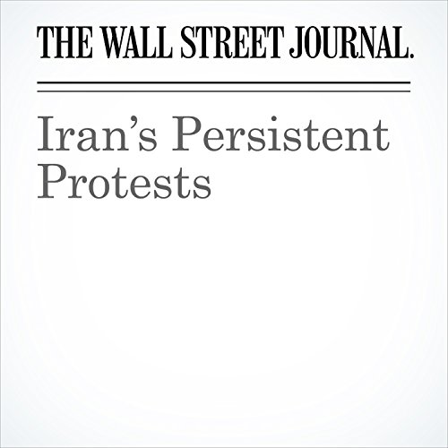 Iran's Persistent Protests copertina