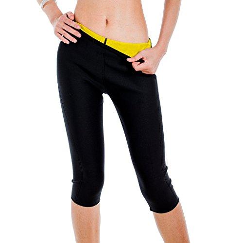 DODOING - Angel-Hosen für Damen in Schwarz, Größe L/(Für Taille 31.1-33.5 Zoll)