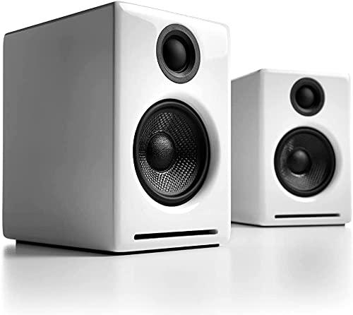 【国内正規品】Audioengine オーディオエンジン A2+ワイヤレス・パワードスピーカー l Bluetooth aptX対応・16bit DACアンプ内蔵 (ホワイト)