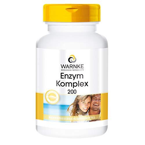 Enzym Komplex Kapseln - Bromelain, Papain & Ficin - vegan - Pflanzliche Enzyme Plus Acerola & Bioflavonoide - hochdosiert - 250 Kapseln - Großpackung