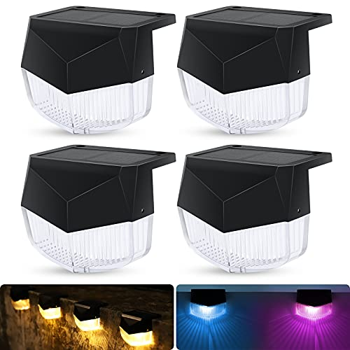 ad: $17.99 (55% off)   Pack of 4 Solar Fence Lights    use code WOFK2APK at checkout   …