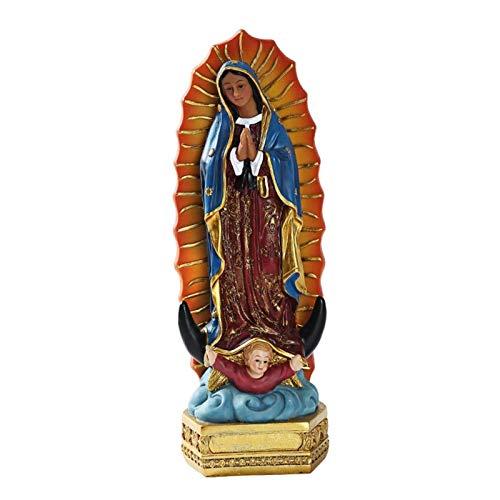 Estatuas De La Virgen María Estatua Virgen De Guadalupe Virgen María Cristiano Estatua Figura Virgen Estatuas Decorativas Estatuas Resina Estatuilla De Religioso Coleccionable Estatuilla De Para Boda