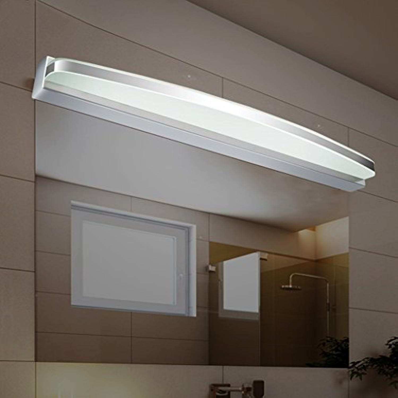 LQ Wasserdichter Nebel führte Spiegel-Licht-Moderne unbedeutende Edelstahl-Verfassungs-Lampe (gre   100cm 17W)