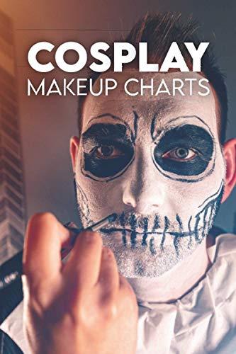 Cosplay Makeup Charts: Special Effect Makeup Book / Special Fx Makeup Book / Fx Makeup Kit / Cosplay Makeup Kit / Clown Makeup / Special Effects Makeup Beginners / Tattoo Cover Up Makeup