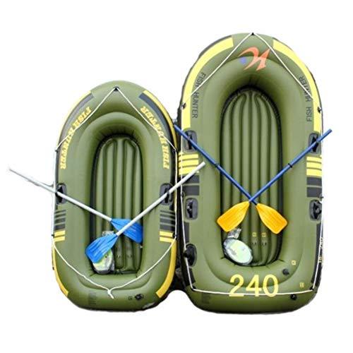 K2 Kayak - Kayak Gonfiabile per 2 Persone con Barca Gonfiabile, Due Remi in Alluminio E Pompa d'Aria Ad Alto Rendimento - Pesca Sportiva E da Pesca Sit on Top Kayak da Pesca Leggero