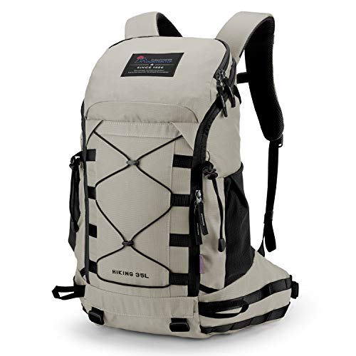 MOUNTAINTOP 35L/40L Hiking, Camping, Travel Backpack with rain cover for Men Women