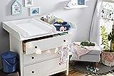 Rotho Babydesign Cambiador de cuña acolchado, Moderno cuadr
