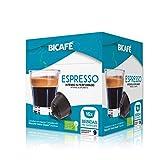 Bicafe - Capsulas compatibles Dolce Gusto Espresso