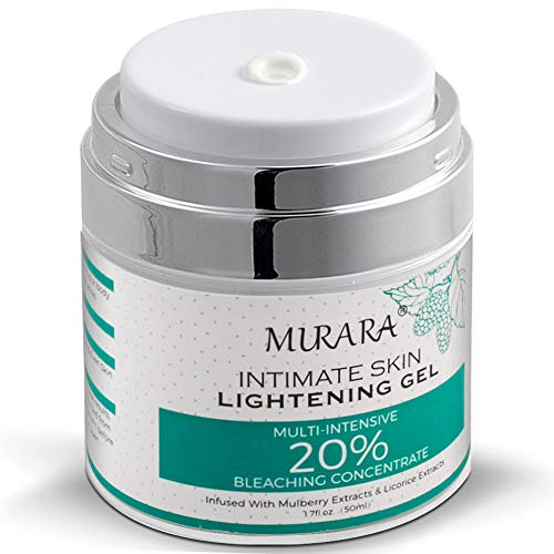 Intimate Skin Whitening Cream For Face, Lightening Cream for Body, Armpits, Knees, Elbows, Sensitive...
