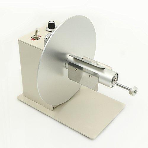 U.S. Solid Automatic Label Rewinder Rewinding Machine w/Speed Adjustment Bidirectional 110V