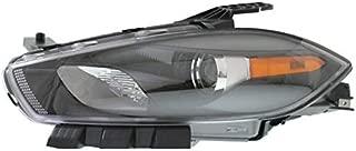 Koolzap For 13-16 Dart Front Headlight Headlamp Halogen Head Light Lamp w/Bulb Driver Side