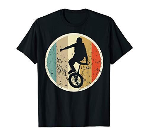 Einrad Fahrrad Einradfahren Einradfahrer Retro Vintage Style T-Shirt