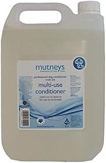 Mutneys Professional Pet Care Multi-Use Dog Conditioner, 5 Litre