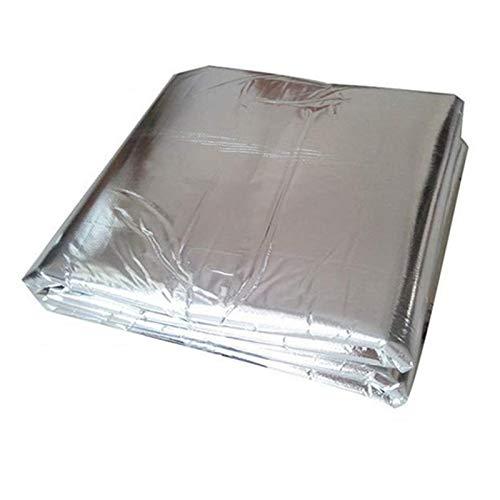 Ruesious Vehículo Insonorizante Forro Aluminio Papel Adhesi