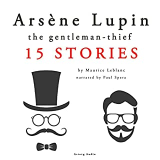 Arsène Lupin, gentleman-thief: 15 stories cover art