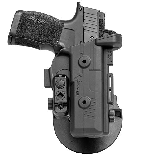 Alien Gear holsters SS OWB Paddle Holster Springfield XD Mod.2 Subcompact 9mm/40 Cal 3 inch (Right Handed)