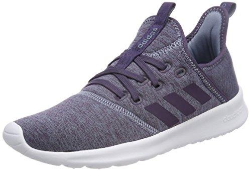 adidas Damen Cloudfoam Pure W DB1323 Fitnessschuhe, Braun (Raw Grey S18/trace Purple S18/ftwr Wht), 40 2/3 EU