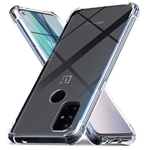 Ferilinso Funda para OnePlus N10 5G [Transparente TPU Silicona Carcasa] [10X Anti-Amarilleo] [Compatible con la Cristal Templado Protector de Pantalla][Protector de Pantalla NO Incluido]