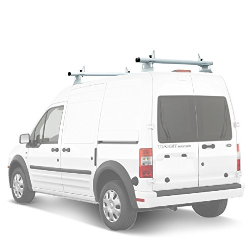 AA-Racks Model ADX32-TR Compatible Ford Transit Connect 2008-13 Aluminum 2 Bar (60