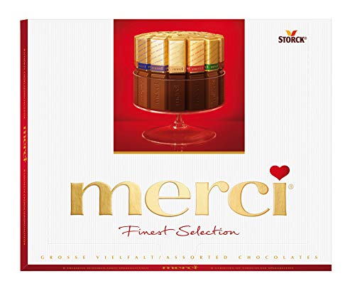 Merci Finest Selection Grosse Vielfalt Schokolade 250 gr.