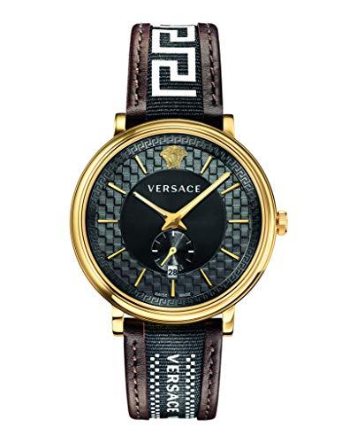 Reloj Versace V-Circle VEBQ01619 - Analógico Cuarzo para Hombre en Piel