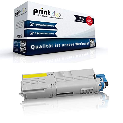 Kompatible Tonerkartusche für OKI C 532DN 542DN MC 563DN 573DN C532 C542 MC563 MC573 46490605 C532 Gelb Yellow - Office Print Serie