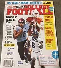Athlon Sports College Football 2019 Magazine (Texas Is Back)