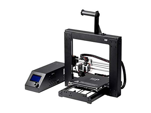 Monoprice Maker Select 3D Printer v2 With Large Heated (200 x 200 x180 mm) Build Plate + Free Sample PLA Filament And MicroSD Card Preloaded With Printable 3D Models.