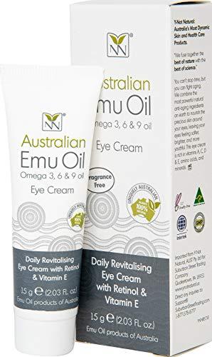 Y- Not Natural - Anti Aging Eye Cream with Australian Emu Oil, Retinol, and Vitamin E