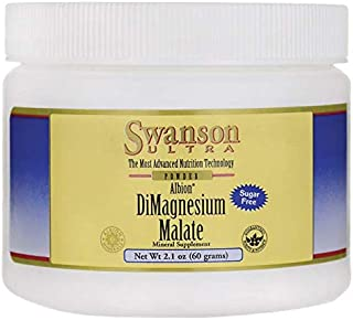 Swanson Albion Dimagnesium Malate 2.1 Ounce (60 g) Pwdr