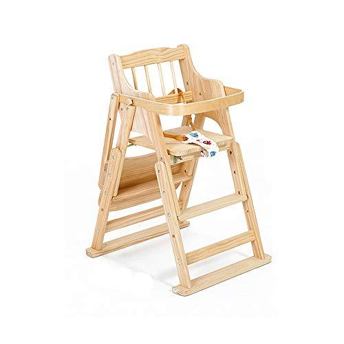 QIDI Kind Vouwstoel Multifunctionele Baby Stoel Draagbare Baby Eettafel Baby Kruk Kinderstoel Effen Houten Stoel