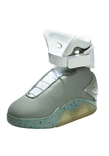 Back to the Future Childrens Light Up LED Shoes - 2