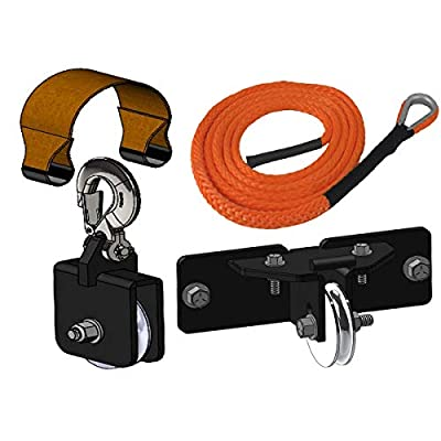 MotoAlliance DENALI Fairlead Plow Pulley Cable - bolt pattern 3 x 4.875 inch