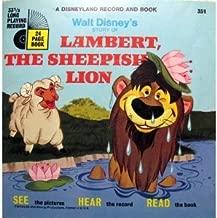 Lambert, The Sheepish Lion. Book and Record