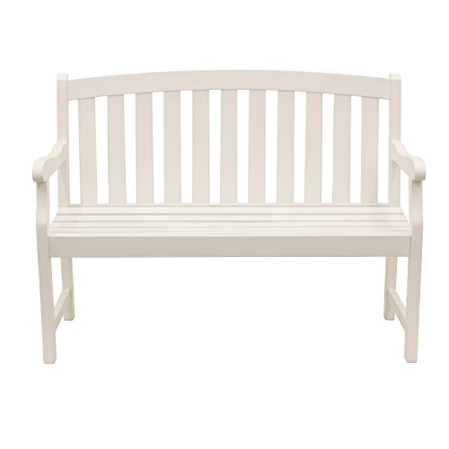 Décor Therapy FR8588 Outdoor Bench White