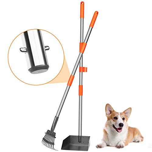 BABYLTRL Stainless Metal Pet Poop Tray and Rake Now $12.09