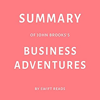 Summary of John Brooks's Business Adventures audiobook cover art
