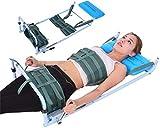 Letto di trazione Lombare, Dispositivo di Estensione barella cervicale per Uso Domestico, Sistema di trazione lombare, distensione del Collo e spondilosi Lombare per alleviare il dolore alla schiena
