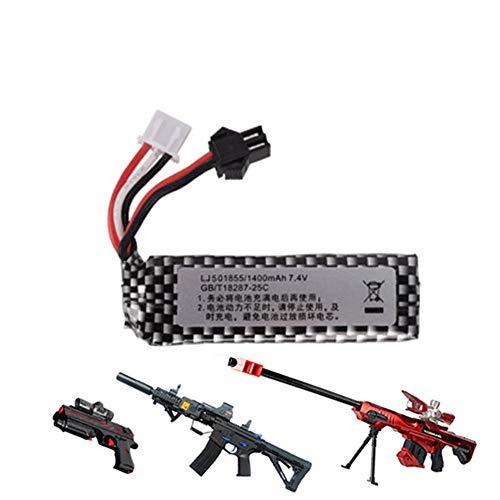 mrwellog Pistola de Aire Airsoft Lipo batería 7,4 V 1400 mah batería...