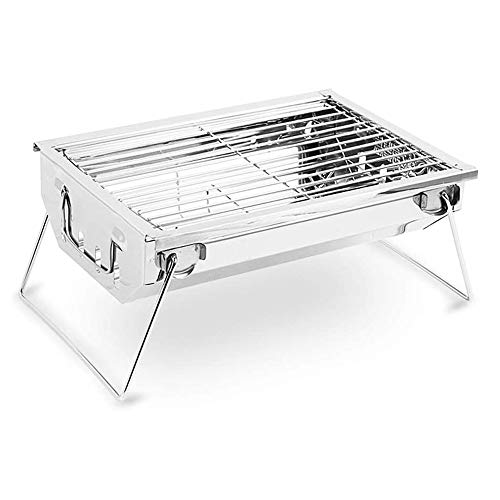 LYYJIAJU Mini Grill, Household Charcoal Grill, Foldable Outdoor Grill, Suitable for 3-5 Person Grill, Heating Stove